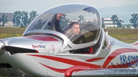 Sport Star şi al său pilot: Adrian Pena